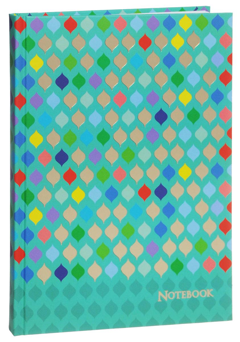 Listoff Записная книжка Разноцветный стиль 100 листов в клетку КЗФ51001760