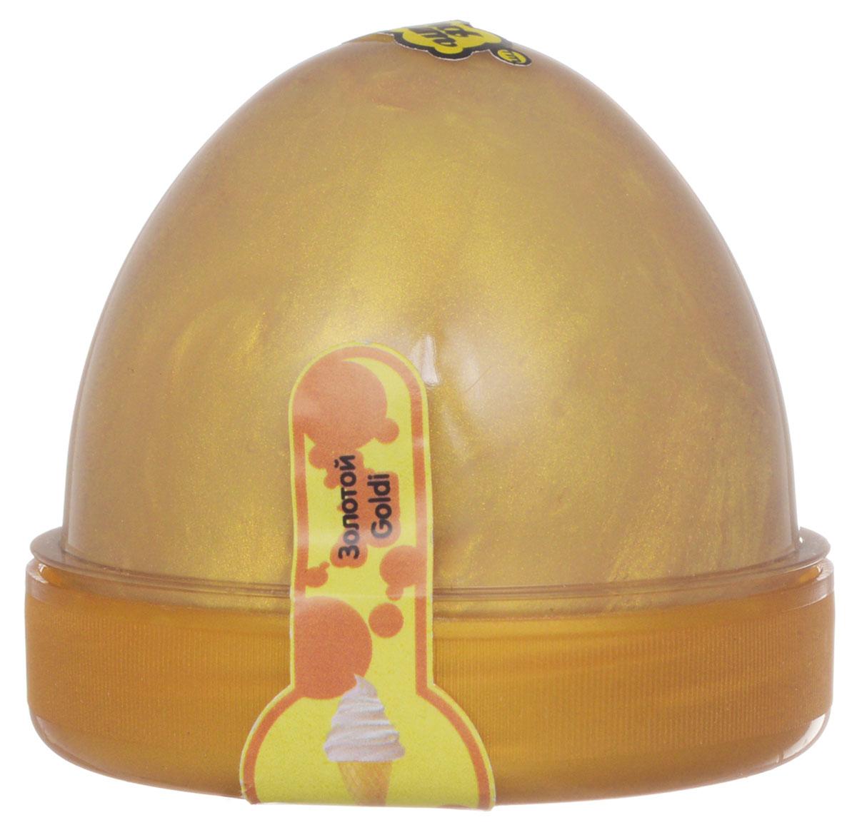 Жвачка для рук ТМ HandGum, цвет: золотой, 70 г10086Жвачка для рук Hand Gum золотого цвета без запаха подарит вам позитив и хорошие эмоции. Она радует глаз и дарит нежные тактильные ощущения, способствуя хорошему настроению. Жвачка для рук изготовлена из упругого, пластичного и приятного на ощупь материала, ее можно растягивать, как резину, а если сильно дернуть, то можно порвать. Из нее отлично получаются скульптуры, которые живут считанные минуты, постепенно превращаясь в лужи. Прилепите ее на дверную ручку - и он капнет, скатайте шарик и ударьте об пол - он подпрыгнет. Кубик, кстати, тоже подпрыгнет, но совсем не туда, куда ожидается. Характеристики: Цвет: золотой. Вес: 70 г. Размер упаковки: 5,5 см х 6 см х 6 см.