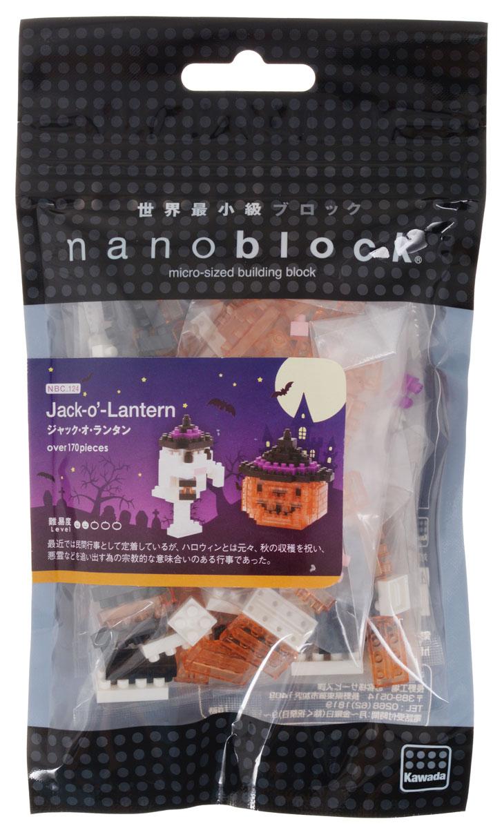 Nanoblock Мини-конструктор Джек-фонарь