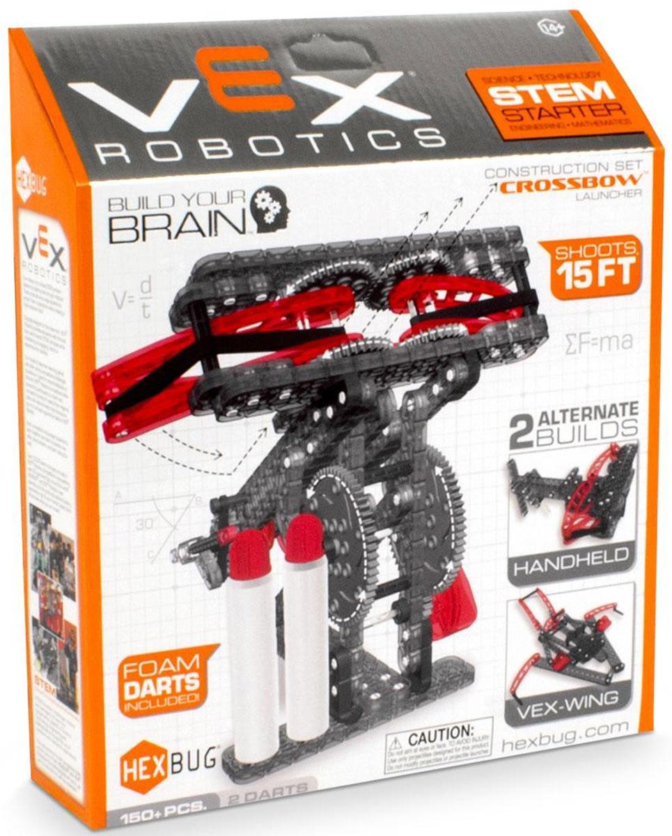Hexbug Конструктор Vex Crossbow Launcher406-4210Конструктор Hexbug Vex Crossbow Launcher привлечет внимание вашего ребенка. Он содержит 100 пластиковых элементов, из которых ребенок сможет собрать действующую модель средневековой осадной машины баллиста. Снаряды для машины - в комплекте. Дальность действия составляет около 4,5 метров.br>Игры с конструктором помогут ребенку развить воображение, внимательность, пространственное мышление и творческие способности. С его помощью детей можно познакомить с миром механики в игровой форме. А также такой набор будет интересен не только детям, но и родителям.