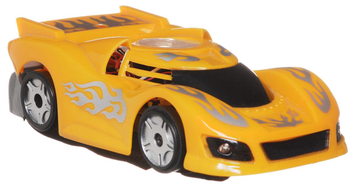1TOY Машина на радиоуправлении Спайдер цвет желтыйТ51857Фантастическая модель на радиоуправлении 1TOY Спайдер привлечет внимание не только детей, но и взрослых. Машинка изготовлена из прочных и безопасных материалов. Машинка со световыми эффектами может перемещаться вперед, дает задний ход, поворачивает влево и вправо, вращается. А также нарушая законы гравитации, ездит по стенам и потолку! Такая модель станет отличным подарком не только ребенку, но и взрослому. Машинка работает от встроенного литий-полимерного аккумулятора 3,7V. Пульт управления работает от 6 батареек напряжением 1,5V типа АА (не входят в комплект).