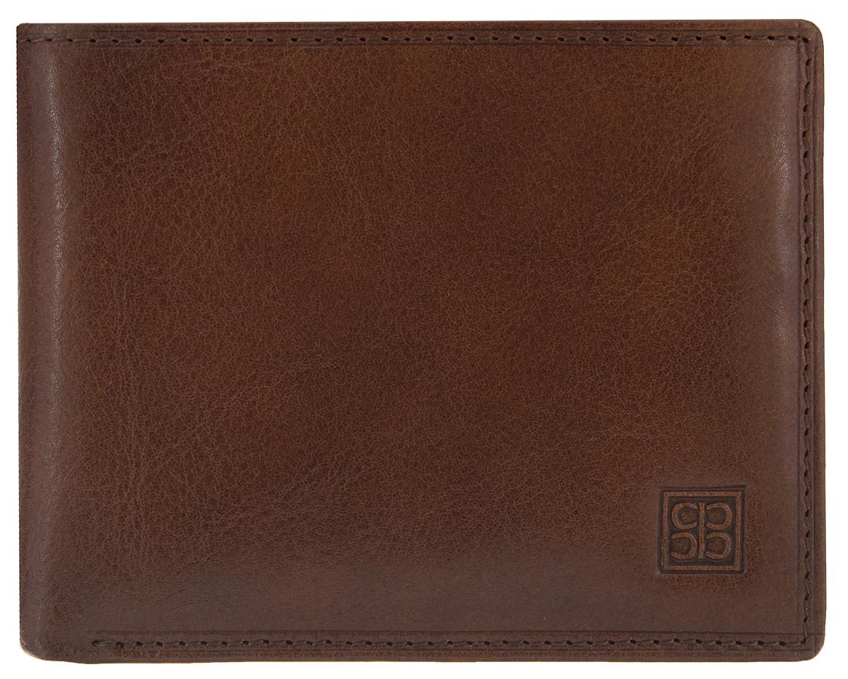 Портмоне мужское Sergio Belotti, цвет: коричневый. 16901690 milano brownСтильное мужское портмоне Sergio Belotti выполнено из натуральной кожи и оформлено тиснением с символикой бренда. Изделие раскладывается пополам. Портмоне содержит два отделения для купюр, девять кармашков для кредитных карт, два сетчатых кармана для мелких документов, отделение для монет на кнопке, три потайных кармана, один из которых на молнии, а также кармашек для sim-карты. Изделие поставляется в фирменной упаковке. Стильное портмоне Sergio Belotti станет отличным подарком для человека, ценящего качественные и практичные вещи.