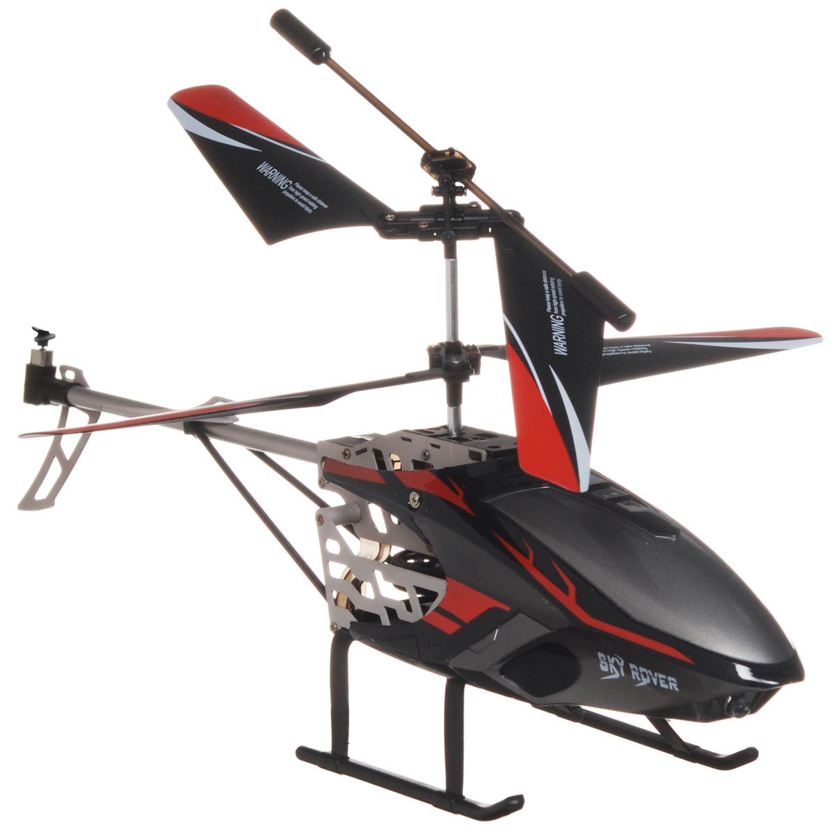 Auldey Вертолет на радиоуправлении Swift 3.0 цвет черный красный