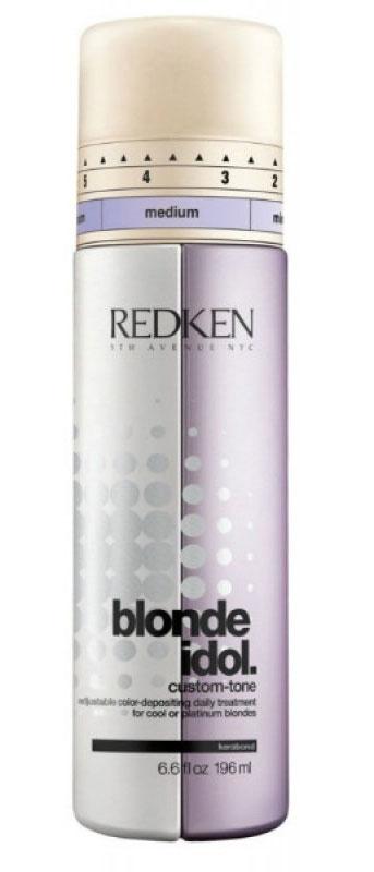 Redken кондиционер Blonde Idol для холодных оттенков 250 млP0899000Подходит для всех типов светлых волос холодных, ледяных, платиновых оттенков. Благодаря идеальному сочетанию оттеночных и ухаживающих компонентов, кондиционер-уход нейтрализует желтизну, продлевая жизнь вашему окрашиванию, придавая им невероятный блеск и ухоженный вид.