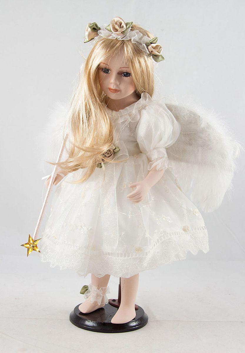 Кукла фарфоровая коллекционная Ангел, 41 см. 1592315923
