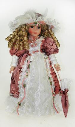 Кукла фарфоровая коллекционная Ксения, 30 см. 1592615926