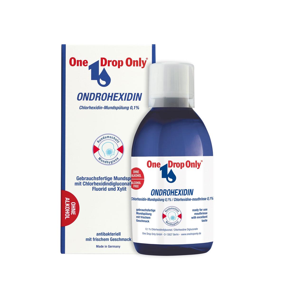 One Drop Only Ополаскиватель полости рта с хлоргексидином, 250 мл