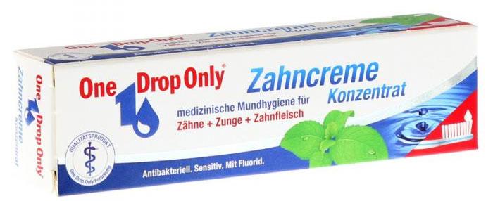One Drop Only Зубная паста с маслом чайного дерева, 25 мл