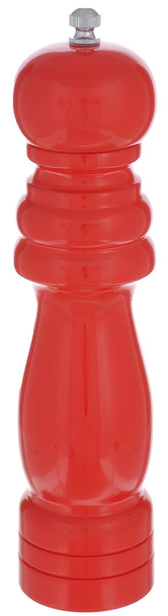 Мельница для специй Walmer Richardson, цвет: красныйW05510021RРучная мельница для специй Walmer Richardson изготовлена из высококачественных материалов - керамики, дерева и металла. Мельница имеет керамический механизм помола и предназначена для перемола перца, соли и других специй. Мельница Walmer Richardson не только поможет вам с приготовлением пищи, но и стильно украсит любую кухню и станет отличным подарком. Высота: 21,5 см. Диаметр основания: 5 см.