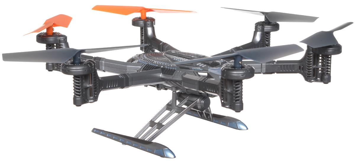 Walkera Гексакоптер на радиоуправлении QR Y100BNFГексакоптер на радиоуправлении QR Y100 с фото и видеокамерой. Видеопоток транслируется по Wi-Fi на Ваш планшет или телефон (IOS или Android). С него же можно управлять моделью. Модель оснащена, помимо системы гироскопов, барометром и компасом. Это позволяет осуществлять полетные режимы: автовзлет, удержание высоты, автоприземление, следуй за мной, IOC. Это FPV гексакоптер имеет литой пластиковый корпус, который дает ему очень футуристический и стильный внешний вид. Тонкие углепластиковые ребра делают его конструкцию легкой и одновременно жесткой. Система управления полетом QR Y100 использует высокоточный 6-осевой гироскоп, который дает чрезвычайно стабильные летные характеристики. Это делает гексакоптер пригодным для новичков, и в то же время позволяет насладиться полетом более опытным моделистам. Управление коптером - очень простой процесс. Оно происходит с использованием интуитивно понятного интерфейса, с которым справится даже ребенок. Игрушка изготовлена из пластика...