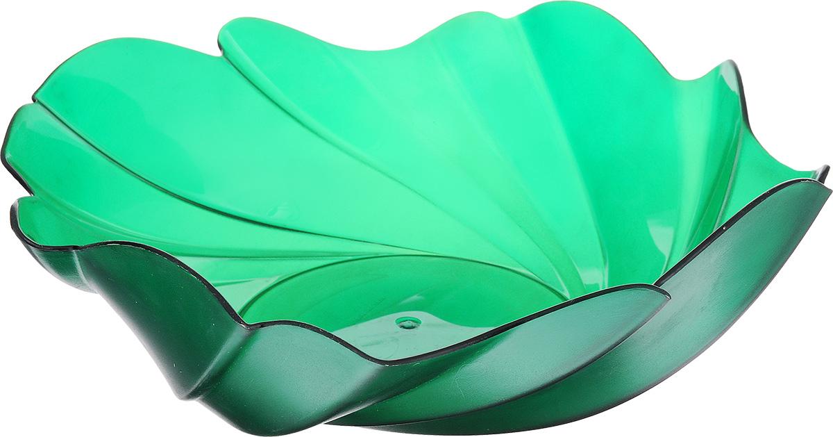 Фруктовница Berossi Акри, цвет: зеленый, 28,5 х 28,5 смИК01211000Оригинальная фруктовница Berossi Акри изготовлена из высококачественного пищевого пластика. Она идеально подходит для хранения и красивой сервировки фруктов. Современный дизайн фруктовницы идеально впишется в интерьер вашей кухни. Размер (по верхнему краю): 28,5 х 28,5 см.