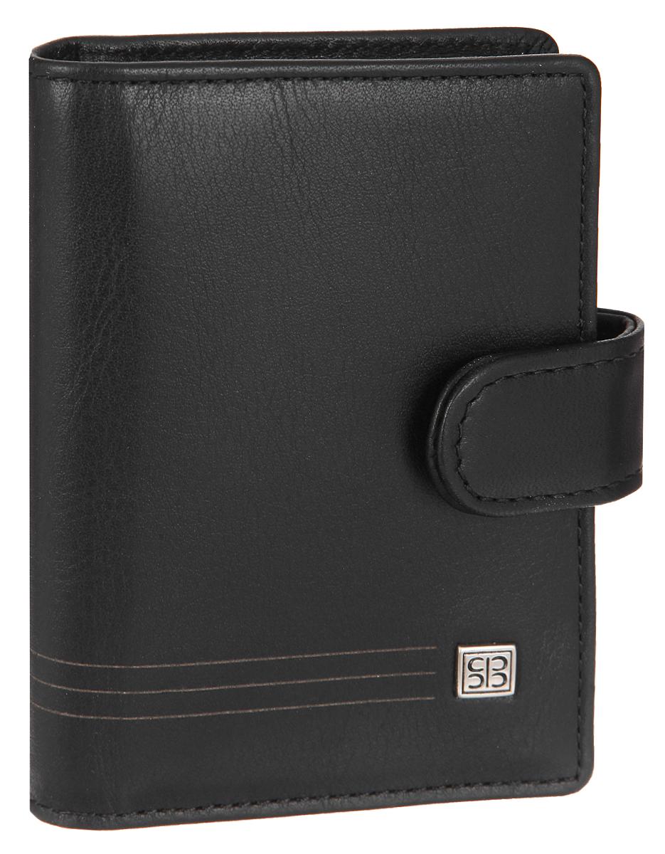 Визитница вертикальная Sergio Belotti, цвет: черный. 24662466 west blackСтильная вертикальная визитница Sergio Belotti выполнена из натуральной кожи. Изделие оформлено металлической фурнитурой с символикой бренда. Визитница закрывается хлястиком на кнопку. Внутри изделие содержит съемный блок, состоящий из 16 файлов для визиток, а также три накладных кармашка, один из которых с сетчатой вставкой, и кармашек для sim-карты. Изделие поставляется в фирменной упаковке. Визитница Sergio Belotti станет отличным подарком для человека, ценящего качественные и практичные вещи.