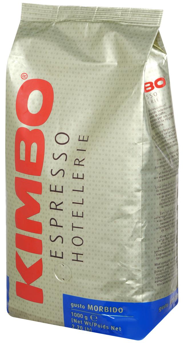 Kimbo Espresso Hotellerie Gusto Morbido кофе в зернах, 1 кг8002200140144Специальная обжарка зерен для Kimbo Gusto Morbido, а также изысканное сочетание арабики из Центральной Америки и азиатской робусты создает мягкий вкус для идеально сбалансированного эспрессо.