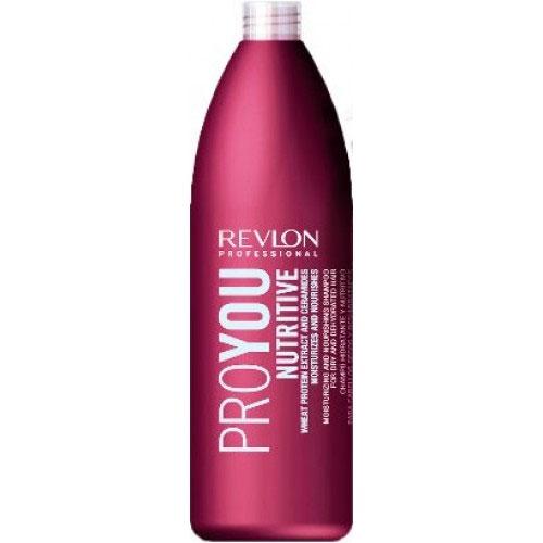Revlon Professional Pro You Шампунь для волос увлажняющий и питательный Nutritive Shampoo 1000 мл