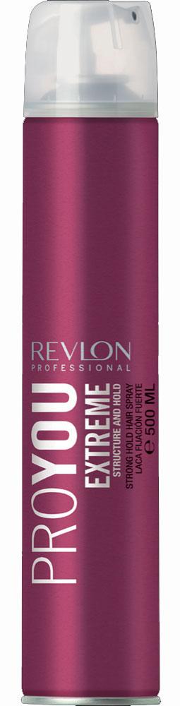 Revlon Professional Pro You Лак для волос сильной фиксации Extreme 500 мл7203149000Лак для волос сильной фиксации от Revlon позволит Вам сохранить идеальную прическу в течение целого дня! Средство надежно фиксирует форму Ваших волос и дарит только приятные ощущения! Лак создает на поверхности волос прозрачный слой, защищающий Ваши волосы от неблагоприятных факторов внешней среды и укрепляющий корни и фибру волос. В состав лака входит экстракт ростков риса, обладающий очистительным и восстанавливающим действием. Средство не увеличивает натуральный вес волос, легко удаляется при процедуре расчесывания и дарит Вашим волосам насыщенный цвет и ослепительный блеск.