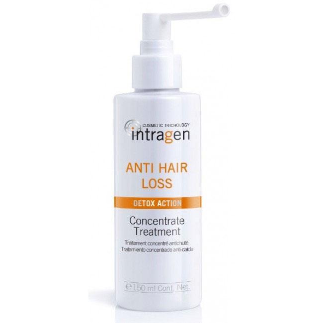 Revlon Professional Средство против выпадения волос Intragen 150 мл7208805000Средство с сильным воздействием. Ваши волосы слабые и ломкие? На расческе каждый раз остаются внушительные объемы волос? Этот спрей-мусс укрепит корни волос, напитает кожный покров головы. Минералы и витамины в составе лечебного комплекса глубоко питают волосы по всей длине, препятствуя их ломкости и выпадению. Продукт одинаково хорошо подходит как мужчинам, так и женщинам.
