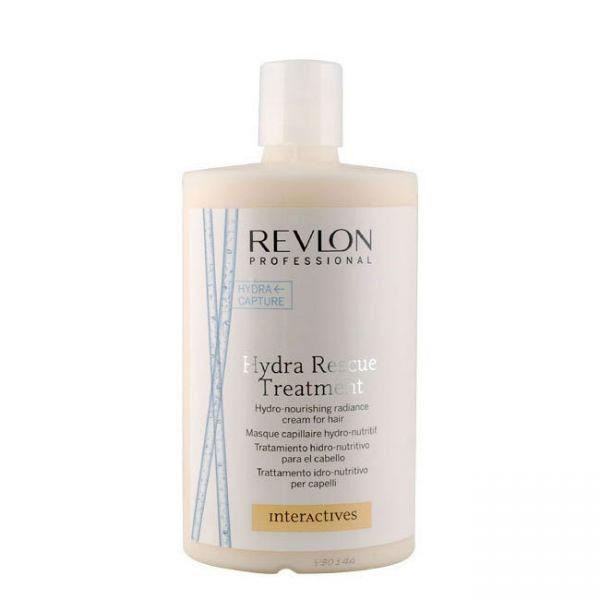 Revlon Professional Interactives Крем для блеска волос увлажняющий и питающий Hydra Rescue Treatment 750 мл7200611000Зачастую волосы повреждаются в результате неправильного ухода, и восстановить их бывает далеко не по силам каждому препарату. Однако, компания Revlon разработала специальный крем Hydra Rescue Treatment, содержащий комплекс витаминных веществ, усиленно питающих волосяные луковицы и кожный покров головы. Крем восстанавливает фибру волос, препятствует разрушению липидного слоя и оказывает смягчающее воздействие. Жесткие волосы становятся послушными, тонкие приобретают объем, а ломкие восстанавливают свою структуру и эластичность. Используйте крем Hydra Rescue Treatment и наслаждайтесь здоровым блеском ваших волос уже сегодня!