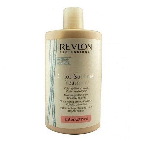 Revlon Professional Interactives Крем для придания блеска окрашенным волосам Color Sublime Treatment 750 мл