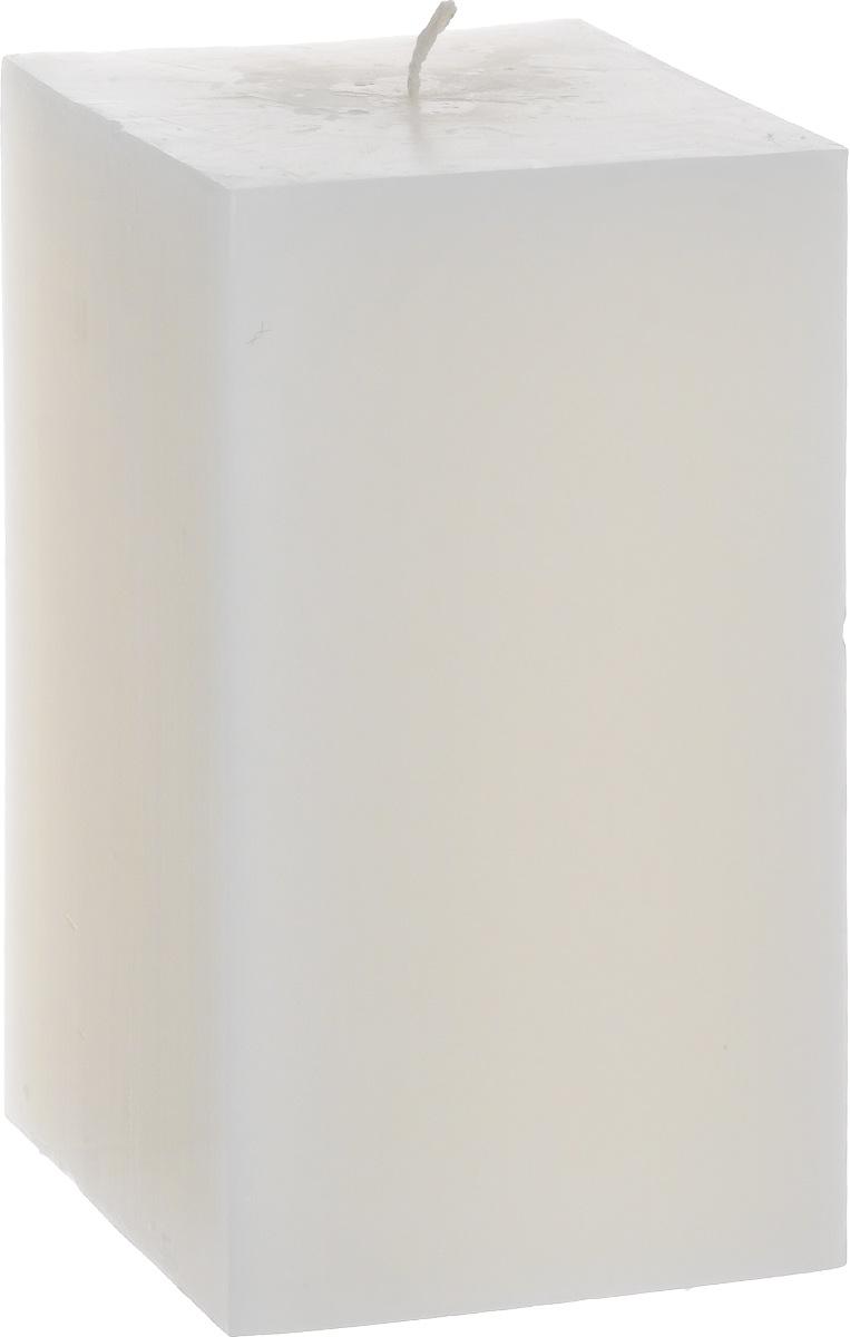 Свеча декоративная Proffi Квадрат, цвет: белый, 9,5 х 9,5 х 17,5 смPH3400Свеча Proffi Квадрат выполнена из парафина и стеарина в классическом стиле. Изделие порадует вас ярким дизайном. Такую свечу можно поставить в любое место, и она станет ярким украшением интерьера. Свеча Proffi Квадрат создаст незабываемую атмосферу, будь то торжество, романтический вечер или будничный день.