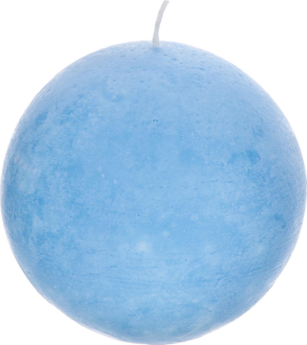 Свеча декоративная Proffi Шар, цвет: голубой, диаметр 8,5 смPH3462Шарообразная декоративная свеча Proffi Шар изготовлена из парафина и стеарина. Предназначена для освещения и украшения помещений. Такая свеча может стать отличным подарком или дополнить интерьер вашей спальни или гостиной.