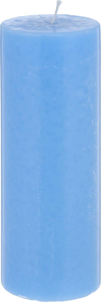 Свеча декоративная Proffi Столбик, цвет: голубой, высота 23 смPH3422Декоративная свеча Proffi Столбик выполнена из парафина и стеарина в классическом стиле. Изделие порадует вас ярким дизайном. Такую свечу можно поставить в любое место, и она станет ярким украшением интерьера. Свеча Proffi Столбик создаст незабываемую атмосферу, будь то торжество, романтический вечер или будничный день.
