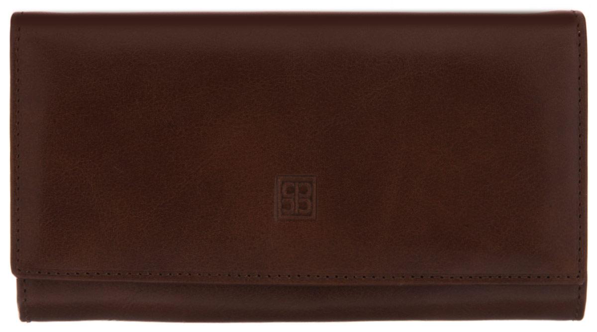 Кошелек Sergio Belotti, цвет: коричневый. 1122 milano brown1122 milano brownзакрывается клапаном на кнопкувнутри три отдела для купюр отделение для мелочи (закрывается на классический замок) три потайных кармашка (один из которых с прозрачной пластиковой вставкой) кармашек для бумаг на молнии шесть кармашков для пластиковых карт (один из которых с прозрачной пластиковой вставкой) кармашек для sim карты снаружи на задней стенке карман для документов Вид застежки: клапаном на кнопку