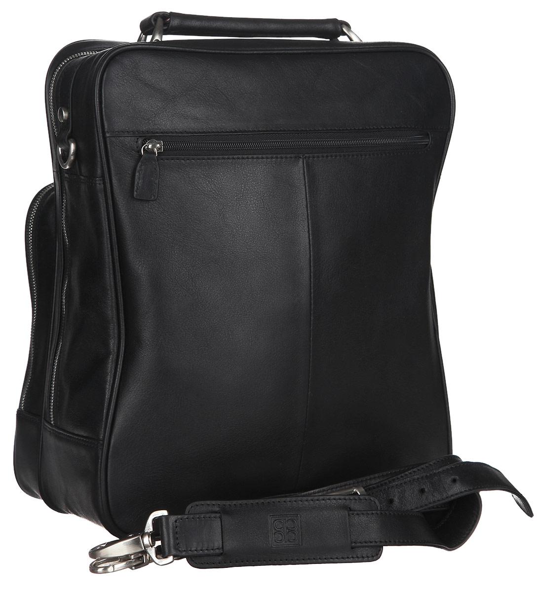 Сумка-планшет мужская Sergio Belotti, цвет: черный. 9971