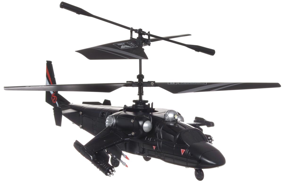 От винта! Вертолет на радиоуправлении Fly-023587226Вертолет на радиоуправлении От винта! Fly-0235 привлечет внимание не только ребенка, но и взрослого, и станет отличным подарком любителю воздушной техники. Вертолет оснащен встроенным гироскопом и световыми эффектами. Модель обладает высокой стабильностью полета, что позволяет полностью контролировать его процесс, управляя без суеты и страха сломать игрушку. Каждый запуск модели будет максимально комфортным и принесет вам яркие впечатления. Модель способна взлетать и снижаться, поворачивать влево, вправо, вращаться, лететь вперед, назад и боком. Вертолет выполнен из металла с пластиковыми элементами. Радиоуправляемые игрушки развивают у ребенка мелкую моторику, логику, координацию движений и пространственное мышление. Порадуйте своего ребенка таким замечательным подарком! Вертолет работает от встроенного аккумулятора, который заряжается посредством шнура USB (входит в комплект). Для работы пульта управления необходимо 6 батареек...