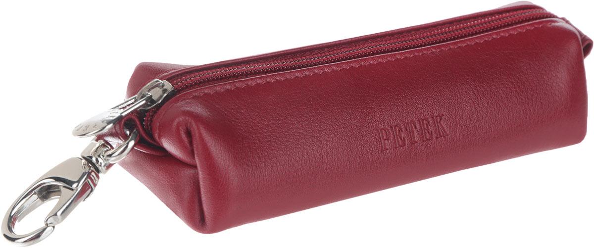 Ключница женская Petek 1855, цвет: темно-красный. 2543.4000.10