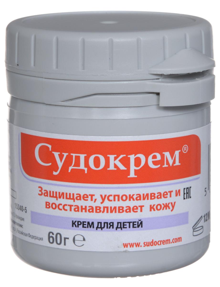 Судокрем Крем для детей, защищающий, успокаивающий, восстанавливающий, 60 г