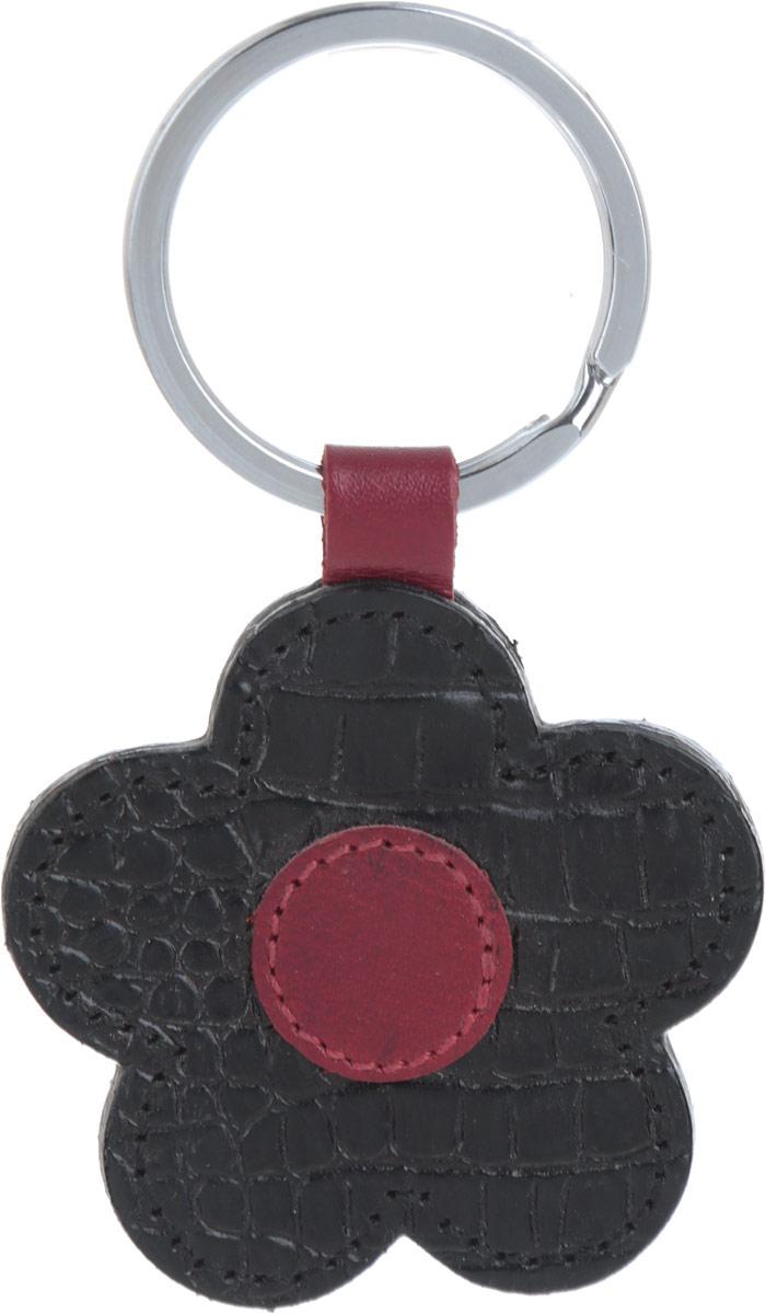 Брелок женский Petek 1855, цвет: черный, бордовый. 1512.067.01