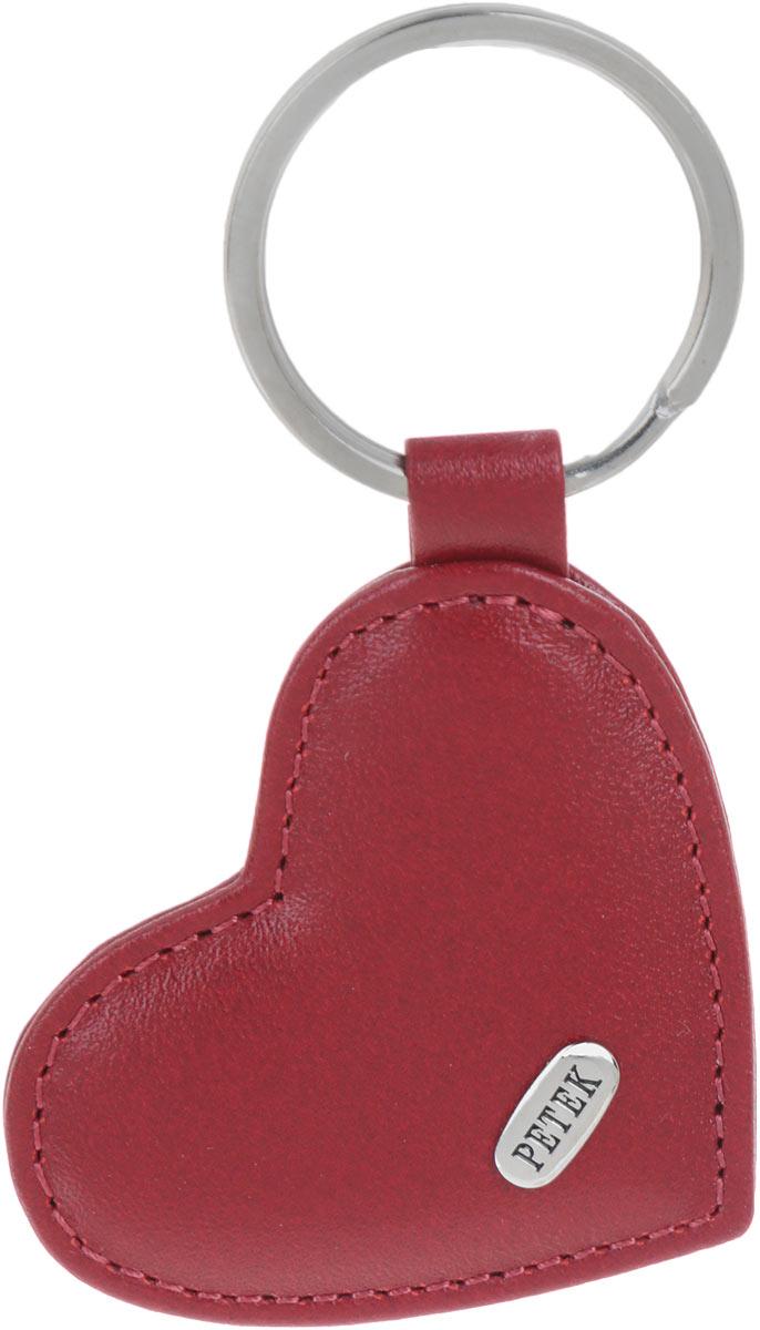Брелок женский Petek 1855, цвет: бордовый. 1503.4000.10