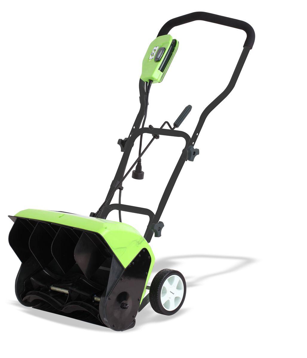 Снегоуборщик электрический Greenworks 1200 Вт 40 см 26037
