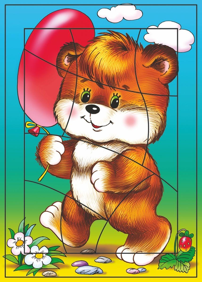 Дрофа-Медиа Пазл Воздушный шарик1185Пазл Дрофа-Медиа Воздушный шарик, без сомнения, придется по душе вашему ребенку. Собрав этот пазл, включающий в себя 10 элементов, вы получите картинку с изображением милого медвежонка с воздушным шариком. Элементы пазла выкладываются на рамку, которая поможет малышу увидеть, что он делает правильно, а над чем еще нужно подумать. Контуры деталей собираемой картинки, повторяющиеся на рамке, позволят не ошибиться в подборе правильного элемента, а картинка-подсказка поможет справиться с заданием самостоятельно. Пазл Дрофа-Медиа Воздушный шарик научит ребенка усидчивости, умению доводить начатое дело до конца, поможет развить внимание, память, образное и логическое мышление, сенсорно-моторную координацию движения рук. Разная величина и форма собираемых элементов картинки способствуют развитию мелкой моторики, которая напрямую влияет на развитие речи и интеллектуальных способностей. В дальнейшем хорошая координация движений рук поможет ребенку легко овладеть письмом.