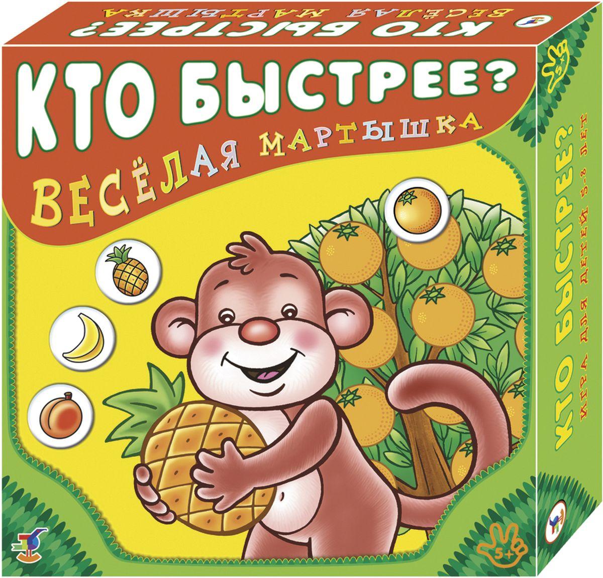 Дрофа-Медиа Настольная игра Веселая мартышка