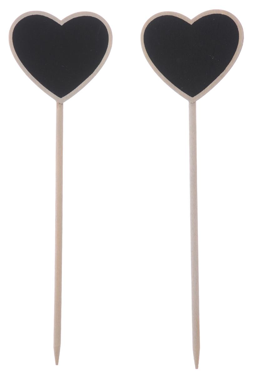 Набор меловых сердечек-вставок ScrapBerrys, длина 22 см, 2 шт7714782Набор ScrapBerrys состоит из 2 декоративных украшений на палочке, выполненных из дерева. Изделия декорированы фигурками в форме сердца со специальной поверхностью, на которой можно рисовать мелом. Такой набор прекрасно подойдет создания различных поделок, оформления флористических композиций и многого другого. Оригинальные сердечки сделают вашу творческую работу особенной. Длина украшения: 22 см. Размер сердечка: 6,5 х 6 см.