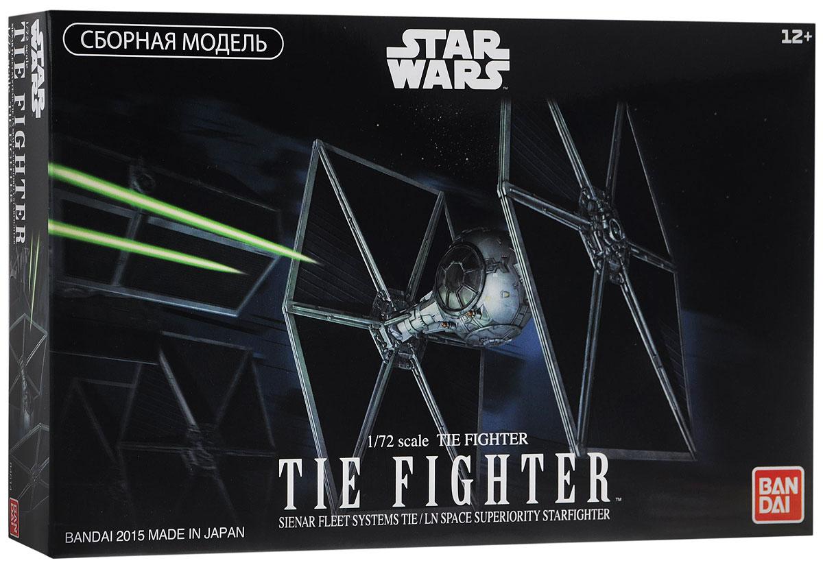 Star Wars Сборная модель Истребитель TIE-Fighter84614Сборная модель Star Wars Bandai Истребитель TIE-Fighter 1/72 - самый известный представитель имперского флота, покорившего Галактику. Истребители можно разместить на борту любого космического корабля Имперской флотилии, независимо от размеров. Отряды этих одноместных кораблей предназначены для быстрых стычек с истребителями повстанцев. Tie Fighter считаются символом могущества армии Империи. Характерные огромные шестигранные солнечные батареи, расположенные с правой и левой сторон истребителя, подают энергию к лазерным пушкам в нижней части истребителя, а также к тяговому двигателю. Кроме того они скрывают и защищают шарообразный отсек кабины пилота от вражеских атак, а также проводят анализ полученного ущерба. Процесс сборки развивает интеллектуальные и инструментальные способности, воображение и конструктивное мышление, а также прививает практические навыки работы со схемами и чертежами. Клей для сборки не требуется. В комплект входят:...
