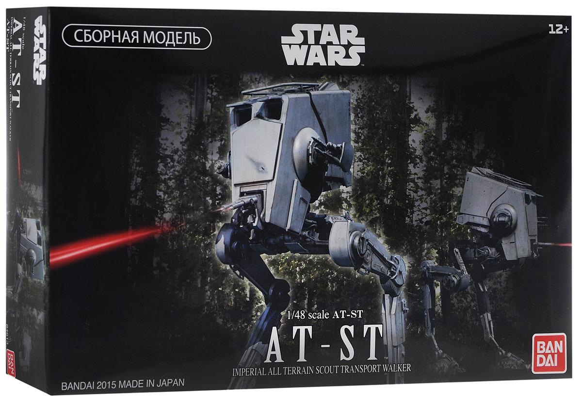 Star Wars Сборная модель Шагоход AT-ST84613Сборная модель Star Wars Шагоход AT-ST непременно понравится не только детям, но и всем поклонникам культовой саги Звёздные Войны. Красочная коробка содержит комплект деталей для сборки в масштабе 1/48 коллекционной стендовой модели культового Имперского Разведывательного транспортёра из пятого эпизода киносаги Звёздные Войны. Это необычное бронированное сооружение на движителе, похожем на птичьи лапы, не могло не произвести незабываемого впечатления на зрителей. Повстанцы часто называли их цыплятами (chicken walker). Вооружены эти цыплята двумя лазерными пушками в подвижной турели по фронту башни, бластером и гранатомётом по бокам рубки. Ноги, пушки и кабина шагохода подвижны, благодаря чему вы можете воссоздать различные ситуации. Окно кабины экипажа можно открывать и закрывать. Специальные пластиковые детали имитируют бластерный огонь. Боевые повреждения на передней части машины можно с легкостью изобразить, воспользовавшись маркирующими стикерами или...