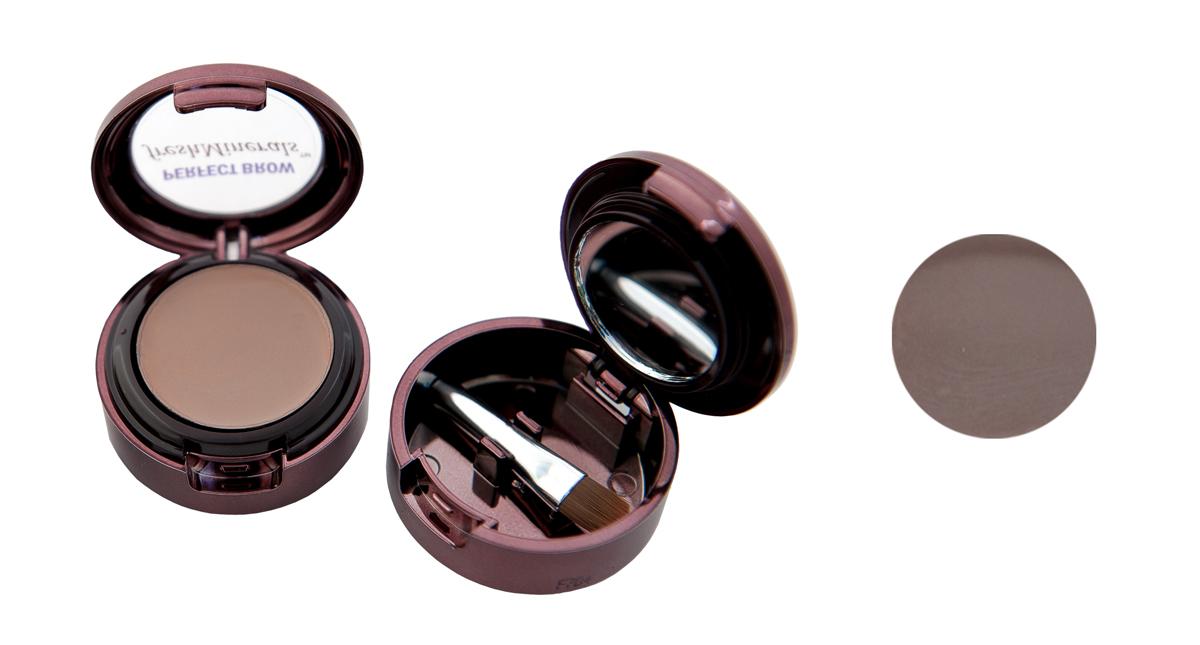 freshMinerals Тени для бровей с минералами, оттенок: Brown, 1,5 г905492