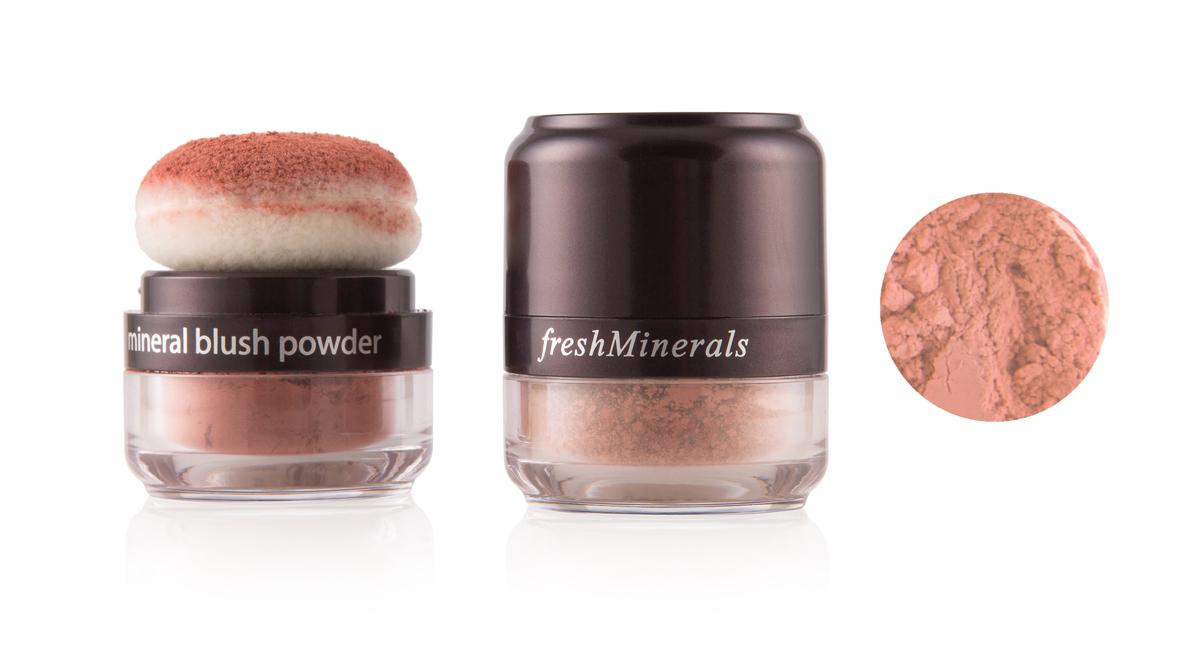 freshMinerals Румяна, пудра с минералами, оттенок: Candy, 7,5 г905516