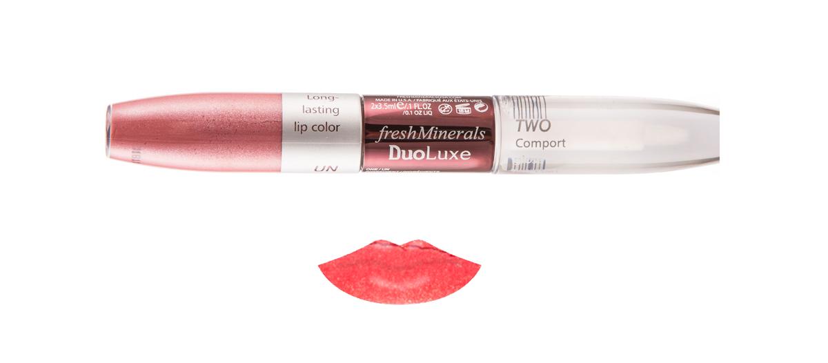 freshMinerals Блеск для губ с двойным эффектом, оттенок: Lovely Red 7 мл905951