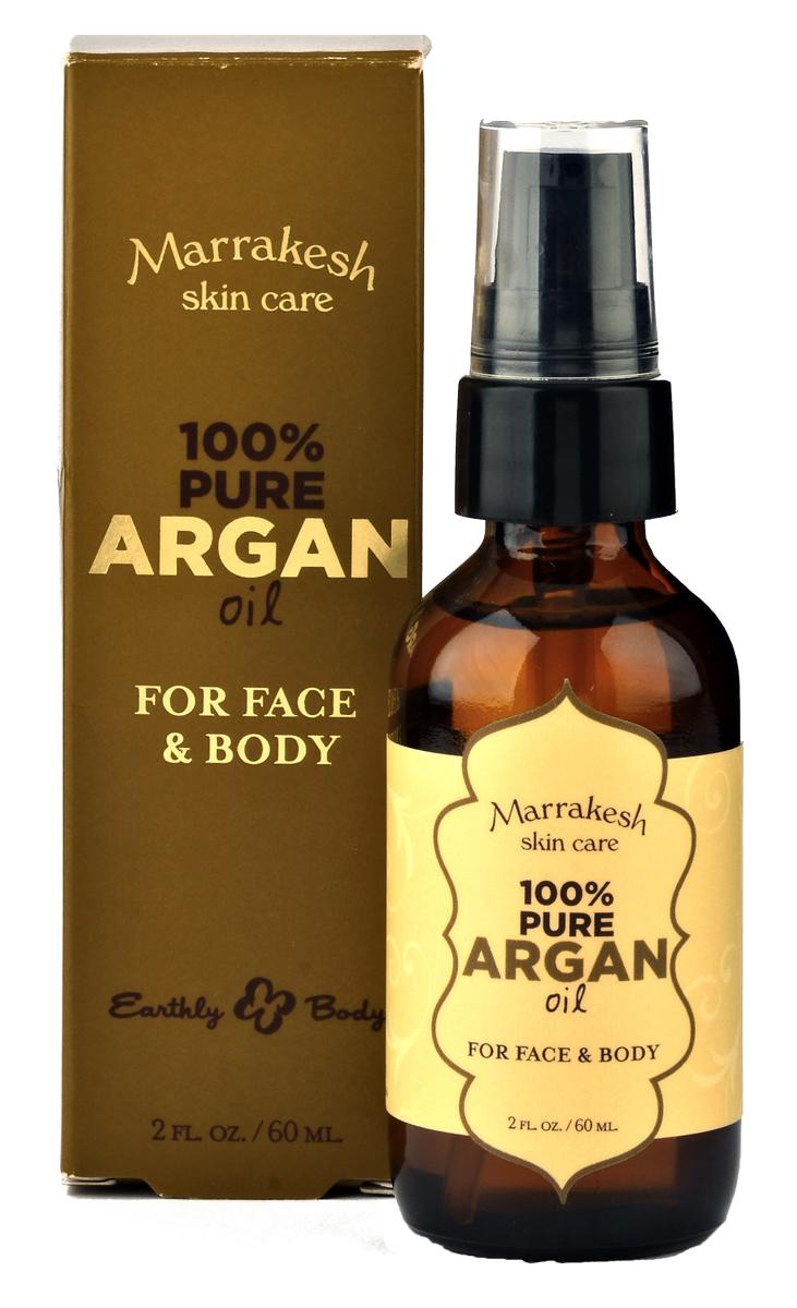 Marrakesh Чистое масло арганы для лица, тела и волос, 60 мл