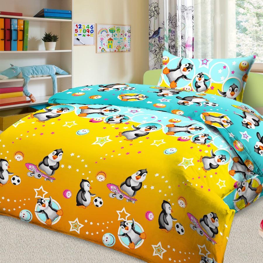 Letto Комплект детского постельного белья Пингвины