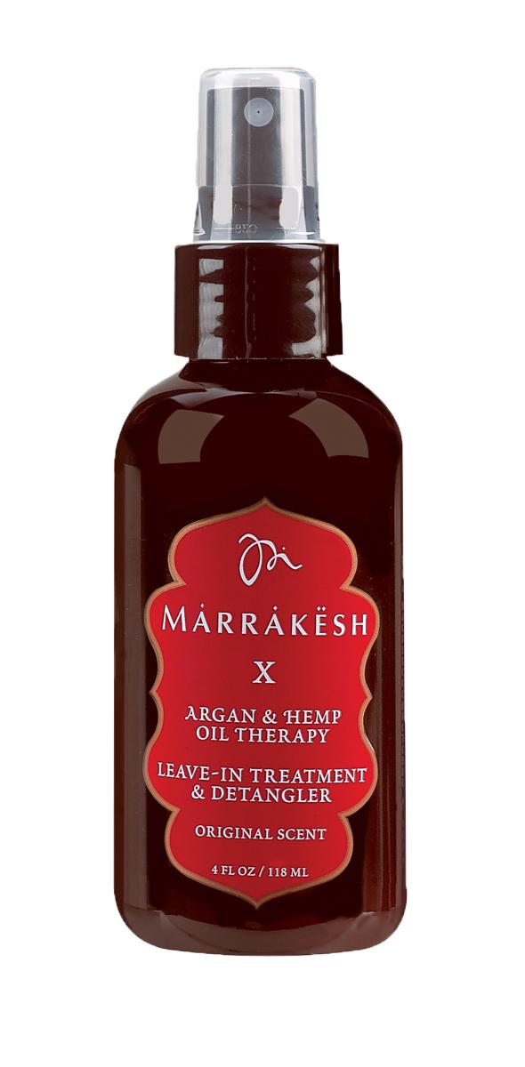 Marrakesh Несмываемый спрей, кондиционер для волос Original, 118 млMKX075Мгновенно увлажняет и восстанавливает волосы. - Облегчает расчесывание и помогает распутать даже самые сухие, тонкие волосы. Защищает от пушистости и статического электричества. - Придает волосам естественный блеск. - Защищает цвет окрашенных волос от выгорания. - Обладет надежной UV и термо защитой. - Уникальный комплекс масел Арганы и Конопли значительно улучшает состояние и текстуру волос - В состав продукта входит Пантенол, который увлажняет и облегчает расчесывание - Антиоксиданты и кислоты естественного происхождения препятствуют повреждению - Натуральные экстракты трав укрепляют кутикулу