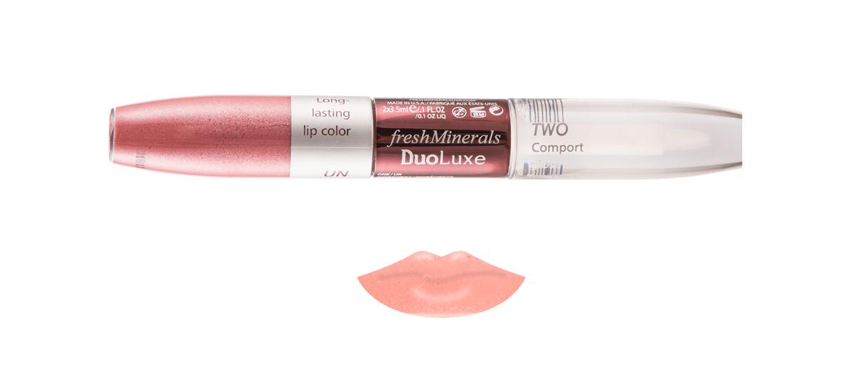 freshMinerals Блеск для губ с двойным эффектом, оттенок: Rose 7 мл905920/1