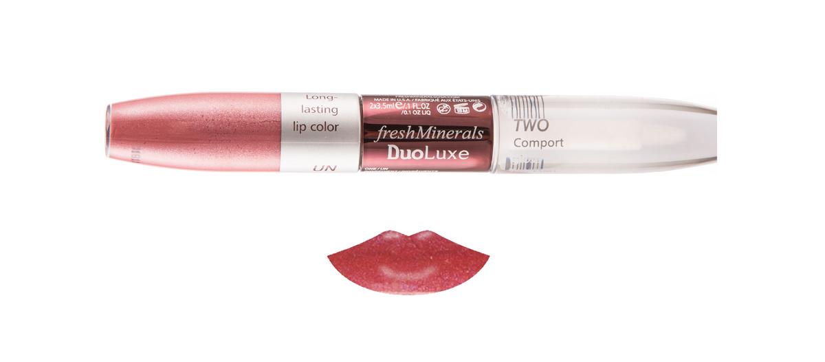 freshMinerals Блеск для губ с двойным эффектом, оттенок: Cherry Red 7 мл905923/2
