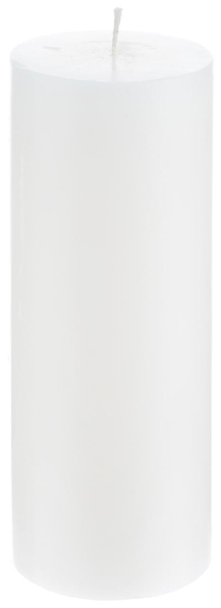 Свеча декоративная Proffi Home Столбик, цвет: белый, высота 19,5 смPH3430Декоративная свеча Proffi Home Столбик выполнена из парафина и стеарина в классическом стиле. Изделие порадует вас ярким дизайном. Такую свечу можно поставить в любое место, и она станет ярким украшением интерьера. Свеча Proffi Home Столбик создаст незабываемую атмосферу, будь то торжество, романтический вечер или будничный день.
