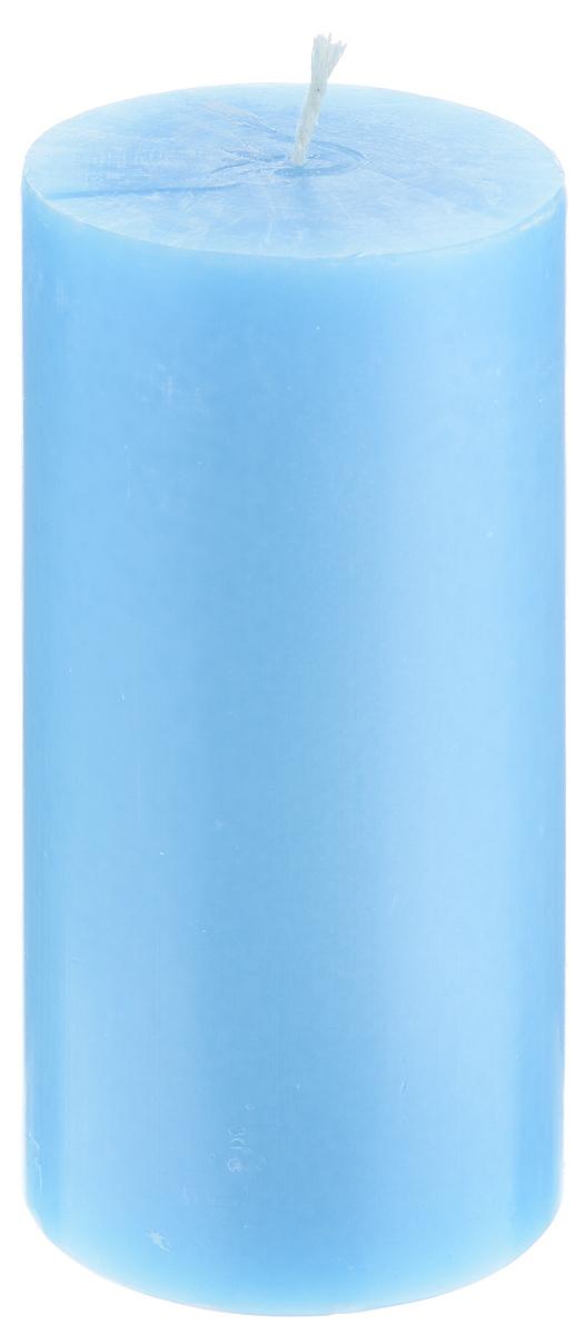 Свеча декоративная Proffi Home Столбик, цвет: голубой, высота 15 смPH3442Декоративная свеча Proffi Home Столбик выполнена из парафина и стеарина в классическом стиле. Изделие порадует вас ярким дизайном. Такую свечу можно поставить в любое место, и она станет ярким украшением интерьера. Свеча Proffi Home Столбик создаст незабываемую атмосферу, будь то торжество, романтический вечер или будничный день.