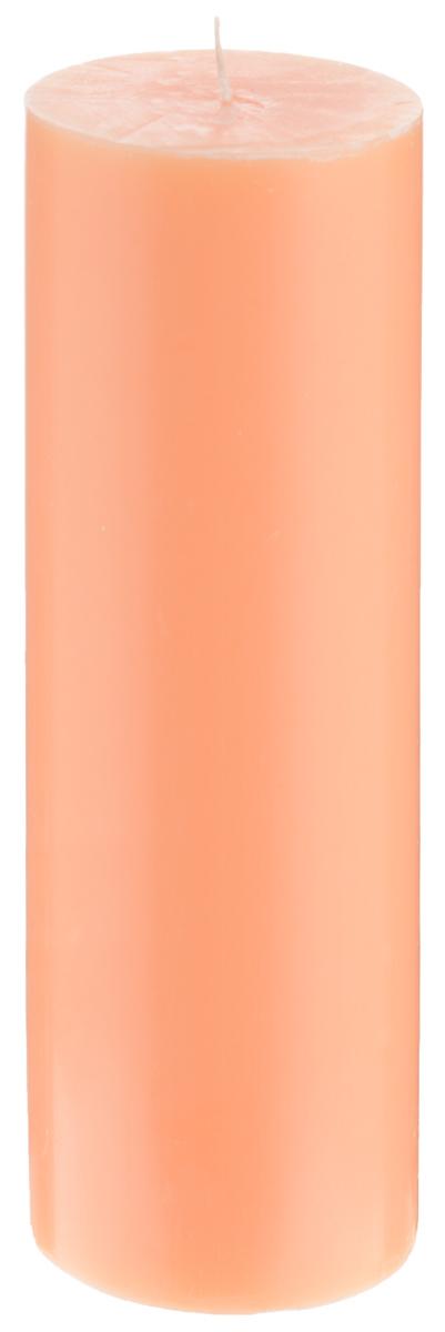 Свеча декоративная Proffi Home Столбик, цвет: оранжевый, высота 19 смPH3435Декоративная свеча Proffi Home Столбик выполнена из парафина и стеарина в классическом стиле. Изделие порадует вас ярким дизайном. Такую свечу можно поставить в любое место, и она станет ярким украшением интерьера. Свеча Proffi Home Столбик создаст незабываемую атмосферу, будь то торжество, романтический вечер или будничный день.