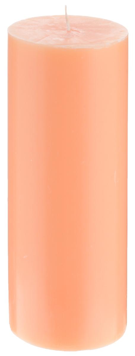 Свеча декоративная Proffi Home Столбик, цвет: оранжевый, высота 15 смPH3445Декоративная свеча Proffi Home Столбик выполнена из парафина и стеарина в классическом стиле. Изделие порадует вас ярким дизайном. Такую свечу можно поставить в любое место, и она станет ярким украшением интерьера. Свеча Proffi Home Столбик создаст незабываемую атмосферу, будь то торжество, романтический вечер или будничный день.